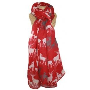 scarf-red-deer