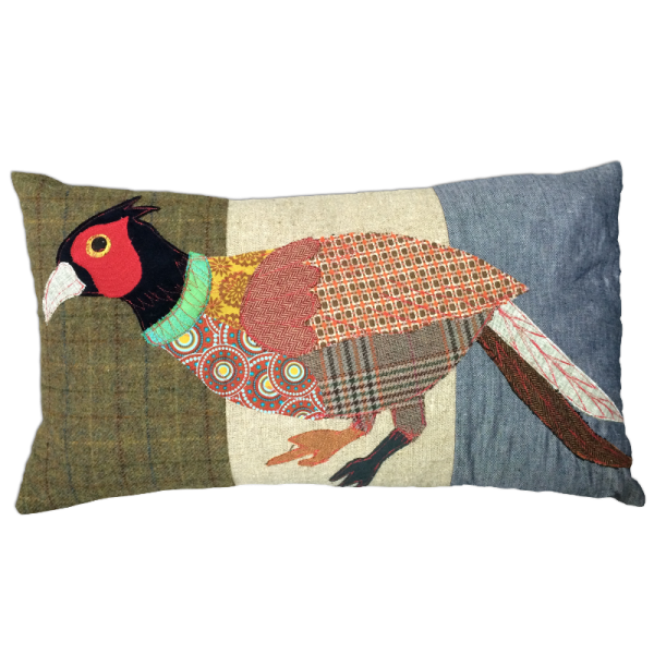 Running-Pheasant-Cushion-by-Carola-van-Dyke-mid-600×600