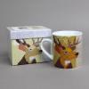 carola Van Dyke stag mug with box