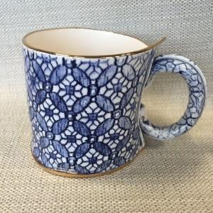 coffee tudor lace