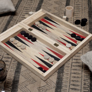 Mango Wood Backgammon
