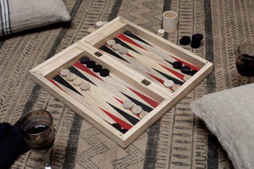 Mango Wood Backgammon