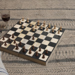 Mango Wood Chess & Draughts